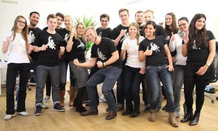 The working atmosphere among the OnPage team is…pretty good!