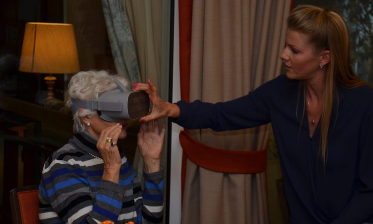 Granny Vision: Pepping Up Everyday Senior Life with VR