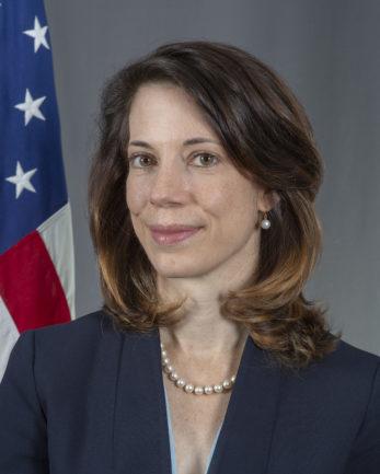 US-Generalkonsulin Meghan Gregonis
