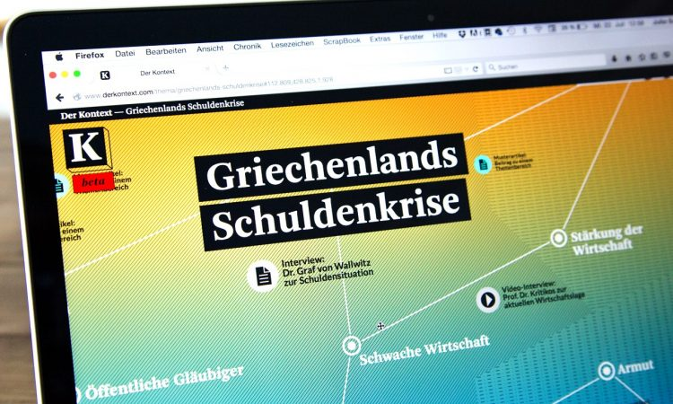 "Profile ""Der Kontext"" –  The online background magazine"