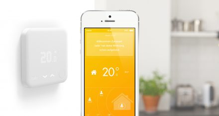 The smart thermostat regulates room temperature (Photo: tado°)