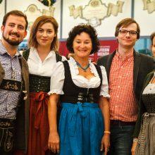 Munich Startup Team at Oktoberfest Networking by Bits and Pretzels