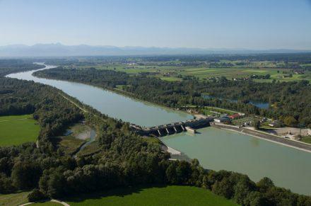 Hydropower plant in Feldkirchen