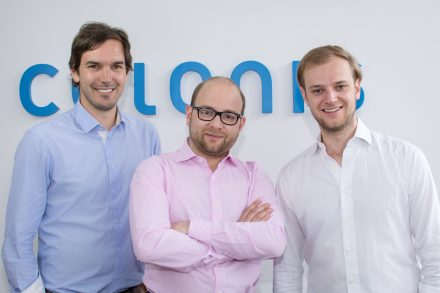 The Celonis founders Martin Klenk, Bastian Nominacher and Alexander Rinke. (from the left, photo: Celonis)