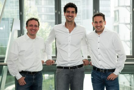 The founders: Andreas Fruth, Gerhard Trautmann and Adrian Renner (from the left), photo: Global Savings Group