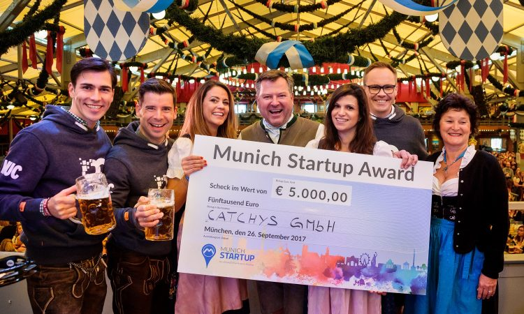 CATCHYS: A Triumph with the 2nd Munich Startup Award