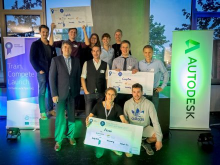 The 2017 ClimateLaunchpad winners.