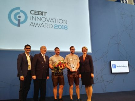 Crashtest Security took second place of Cebit Innovation Award 2018.