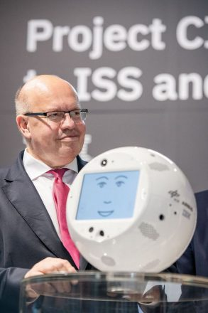 Federal Minister of Economics Peter Altmaier at Cebit 2018