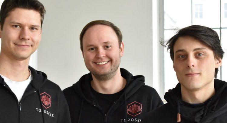 Toposens founders Tobias Bahnemann, Alexander Rudoy und Rinaldo Persichini © Toposens