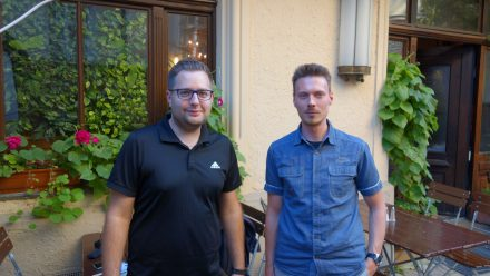 Tobias Hingerl (left) and Christian Kroemer (right) coach Scrum Masters and also work as software developers.