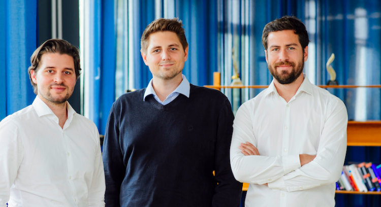 The Talentry founders Carl Hoffmann, Michael Blazek and Lionel von Dobeneck (© Talentry)