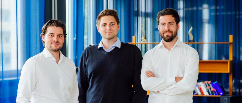 The Talentry founders Carl Hoffmann, Michael Blazek and Lionel von Dobeneck (© Talentry)