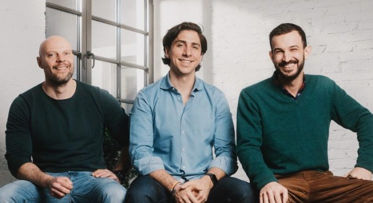 The I·do founders: Andreas Balle, Alexander Weinig and Julien Jockers. (from the left, photo: I·do)